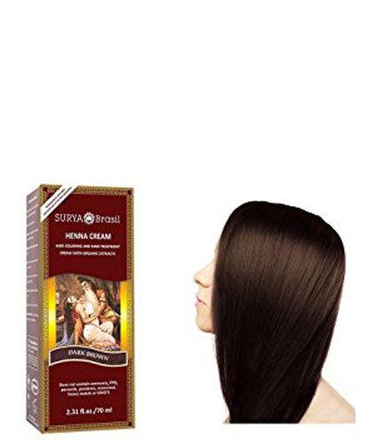4. Surya Brasil Henna Dark Brown Cream - 2.37 Ounce