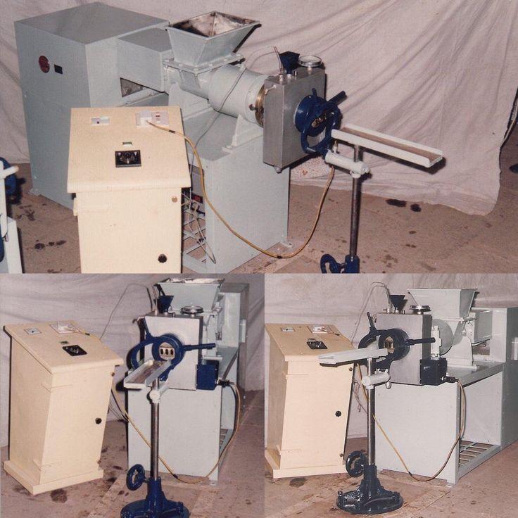 Soap Plodder Machine  250 Kgs per 8 hour capacity Plodder best for Startup