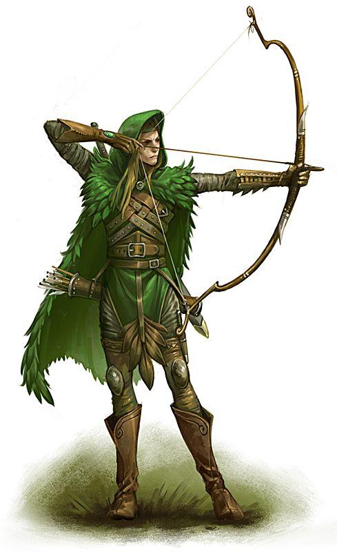 een elemental archer. de beste boogschutters van hun tijd, hun pijlen doorboren elk pantser, zelfs het high tech pantser van de Pipes
