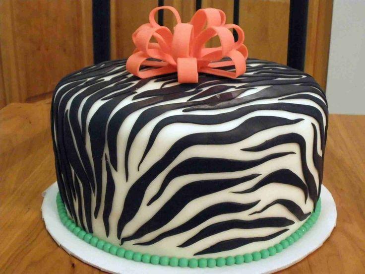 Baby Shower Cakes With Zebra Stripes ~ Zebra baby shower cake baby shower invitations