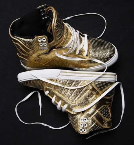 14k Supra shoes