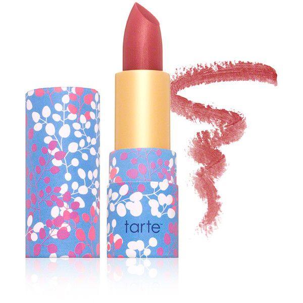 Tarte Cosmetics Tarte Cosmetics Amazonian Butter Lipstick - Tulip ($17) ❤ liked on Polyvore featuring beauty products, makeup, lip makeup, lipstick, tarte, tarte lipstick and moisturizing lipstick