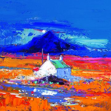 Ben Talla Isle of Mull by John Lowrie Morrison