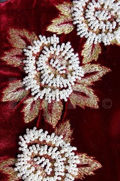 Details of the Catherine Walker dress