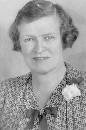 Passport photo of Jessie Street, Australia's most famous suffragette. Source: NAA. Via: @bradheadland