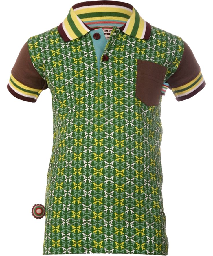 4FunkyFlavours graphic printed green shirt. 4funkyflavours.en.emilea.be
