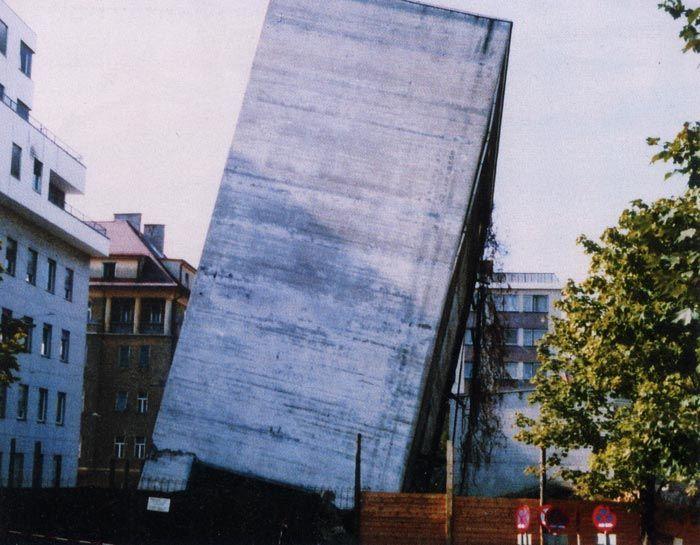 Erfolglose Sprengung eines TU-Gebäudes, Graz, 1985