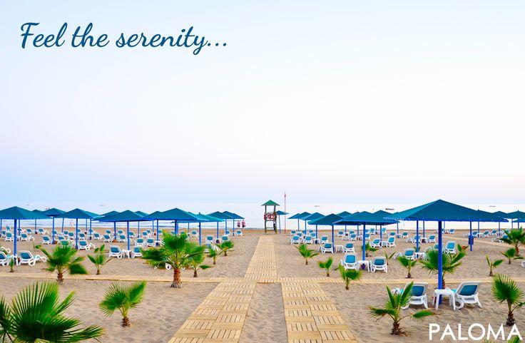 Feel the serenity... #huzur #serenity #beach #Antalya
