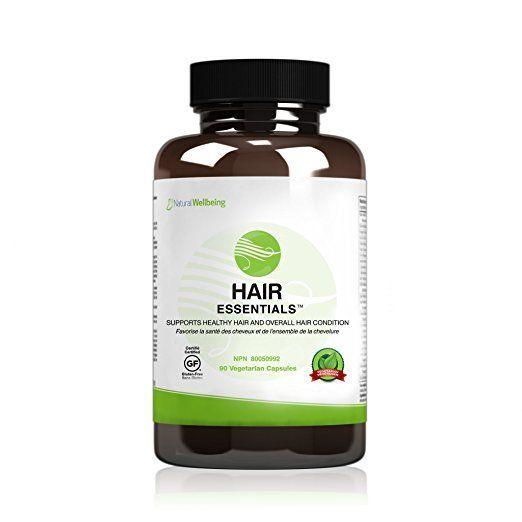 Hair Essentials Natural Hair Growth Supplement for Women and Men, 90 Count #vitaminD #vitaminA #vitaminC