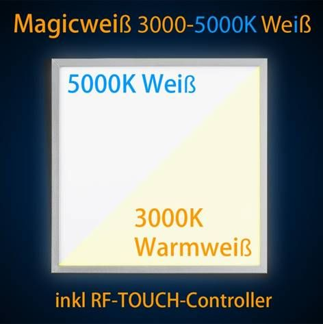 New LED Panel x W Dualweiss Dimmbar