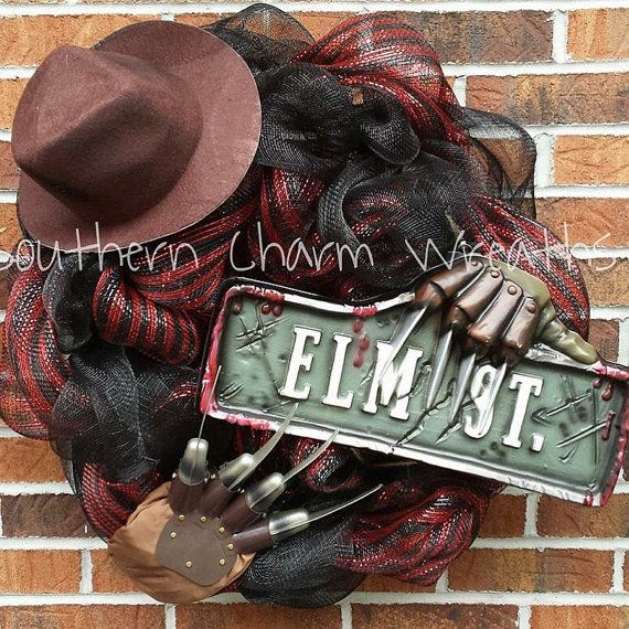 Hey, I found this really awesome Etsy listing at https://www.etsy.com/listing/452498972/24-deco-mesh-nightmare-on-elm-street