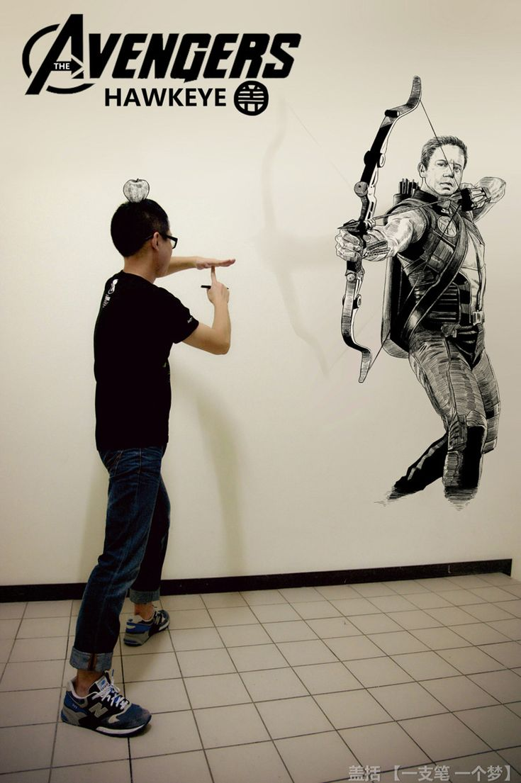 Creative Self-Portrait Drawings by Gaikuo