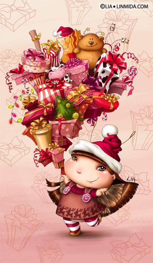 Gift fairy by ~LiaSelina on deviantART