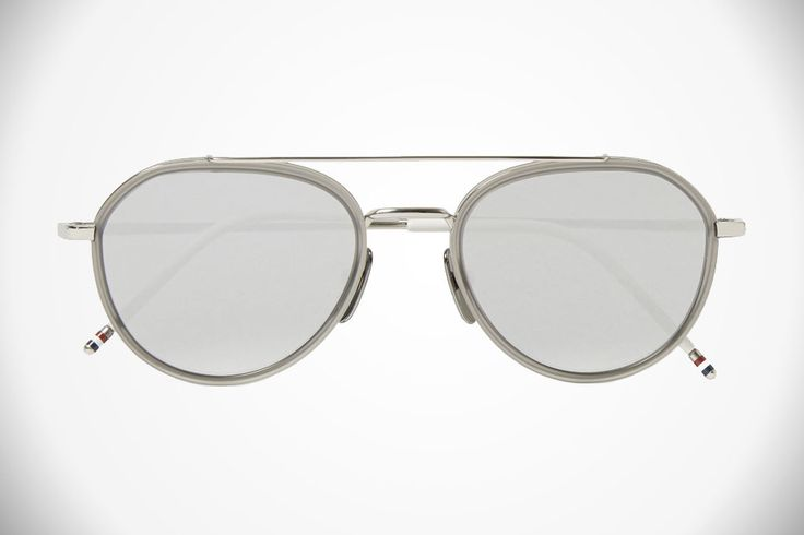 #ThomBrown #Aviator #Sunglasses #Style There's more to wearing aviators than looking like you've just stepped off the set of Top Gun, these mirrored aviators..