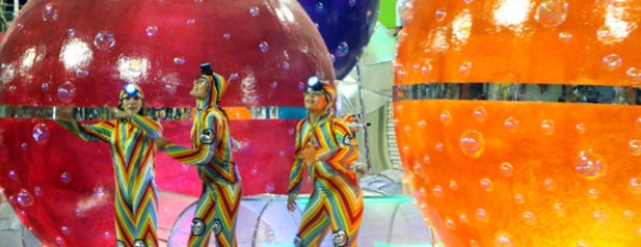 The official website...  Celebrating Carnaval in Rio: The biggest party in the world. Whether you dance it out on the streets, watch the thousands of participants in their elaborate costumes in the samba parade, or attend the fairy-tale Copacabana Palace ball, this is one event not to miss!