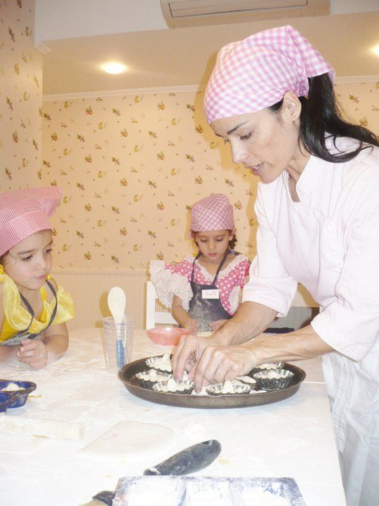78 best clases cocina images on pinterest atelier for Cocina para ninos