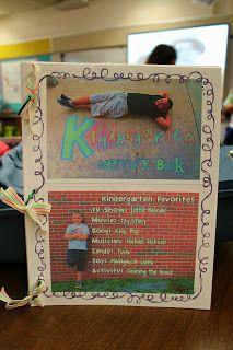 Kindergarten memory book!