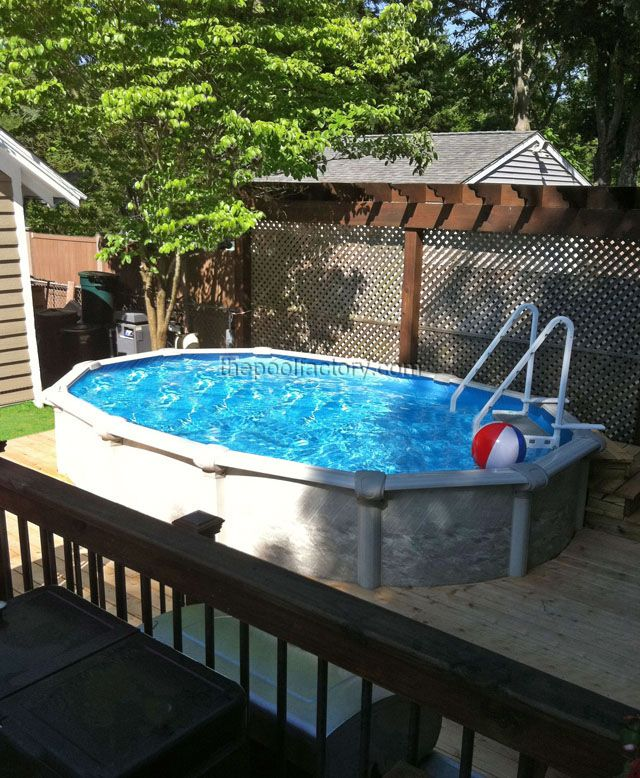 57 best some of our awesome installs images on pinterest for Best looking above ground pools