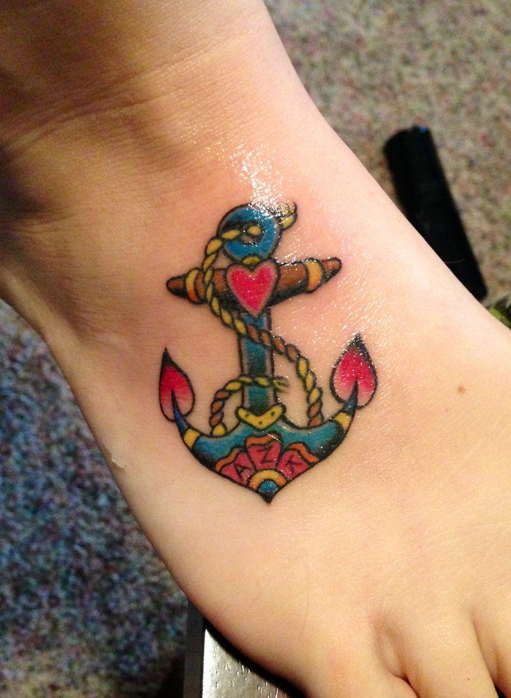 #anchor #tattoo #tattoos #foot
