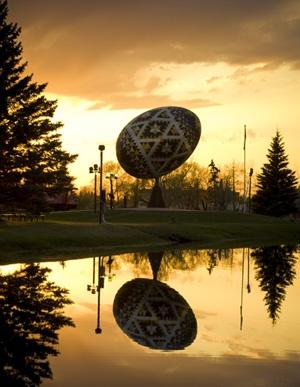 Story of the Vegreville Pysanka .. Vegreville, Alberta northernmeadowestates.com