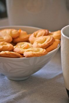 Biscotti di polenta all'arancia