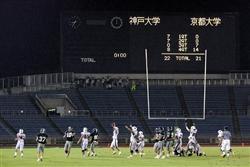 【関西学生アメフット三国志】(30)逆行なんの水野イズム、京大スパルタ回帰