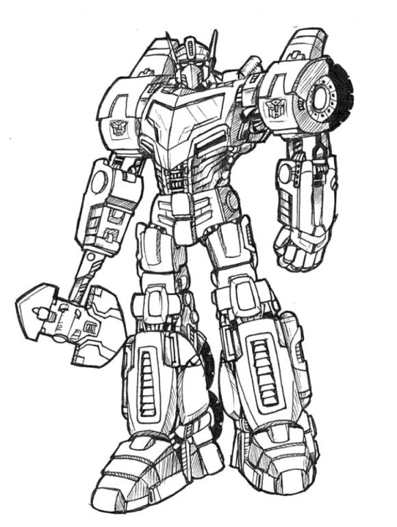 Optimus Prime Transformers Colouring Pictures To Print And Colour