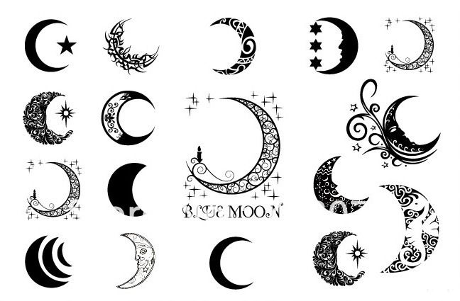 Tattoo luna - Imagui