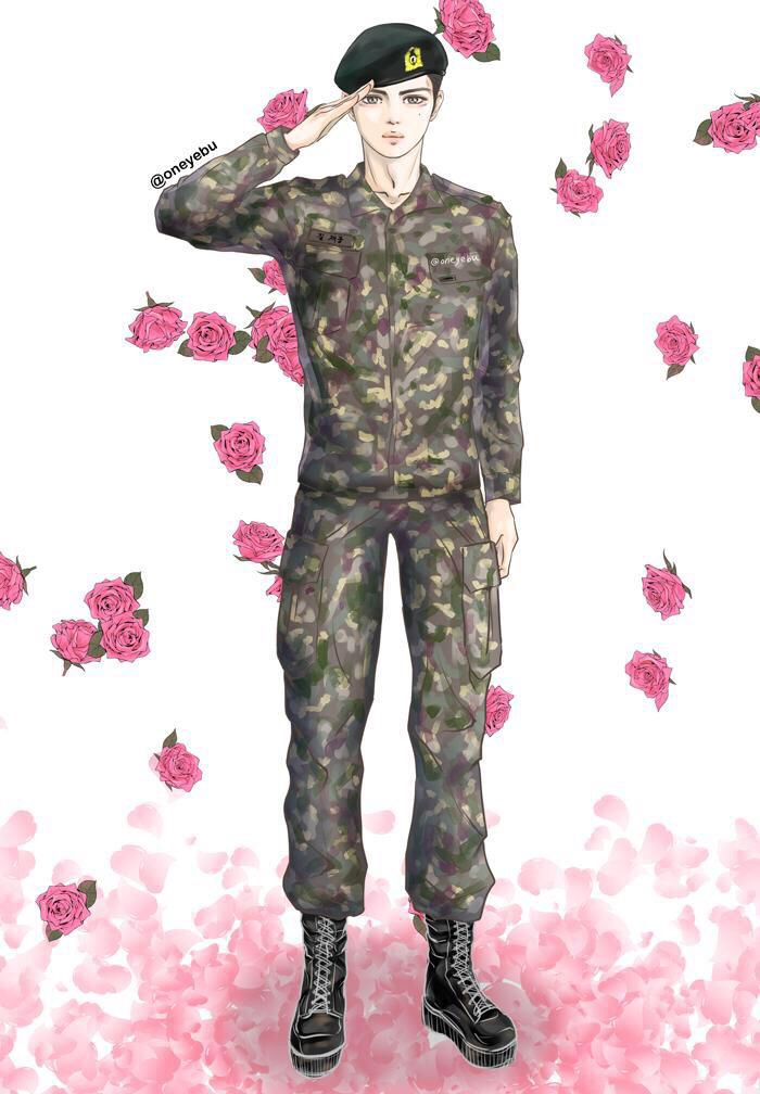 Waiting For Jaejoong with FanArt of JJ (cr pic owner) ❤️ JYJ Hearts
