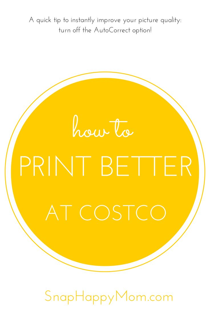 The Costco photo center is convenient, quick, and seriously cheap. If you're just trying to get some photos printed and done, it's a great option for the quality you're getting. However, you can vastly improve the quality of your pictures and prints by changing a few settings. Like most mass-printing situation, printers default to certain... Read More »