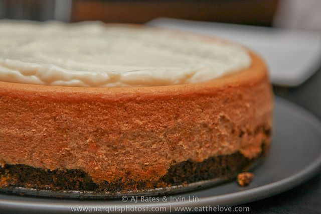 Gluten Free Maple Sweet Potato Cheesecake with Gingerbread Bottom and ...