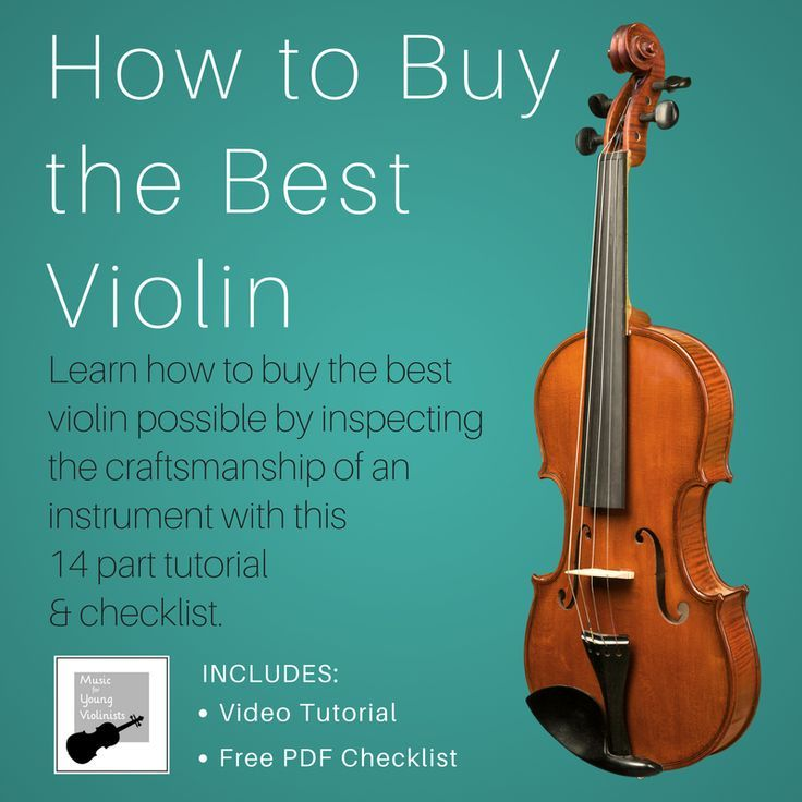 Learn How To Buy The Best Violin Possible By Inspecting The