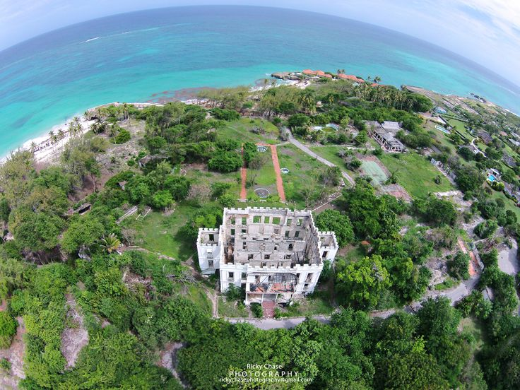 Sam Lord's Castle, Barbados. Destroyed by fire in 2010, but now being rebuilt as a Wyndham Grand Resort