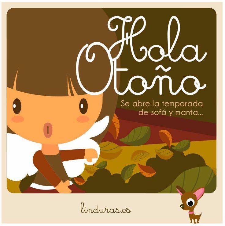 Bienvenido #otoño... Se nos va el solecito pero vuelven los sofás, las pelis, las mantas.... y los abrazos! #lindootoño #sofaymanta #linduras