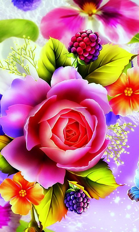 Download 480x800 Cell Phone Wallpaper Category Flowers