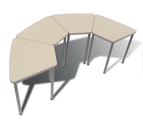 1000 images about table arrangements on pinterest for Trapezoid table