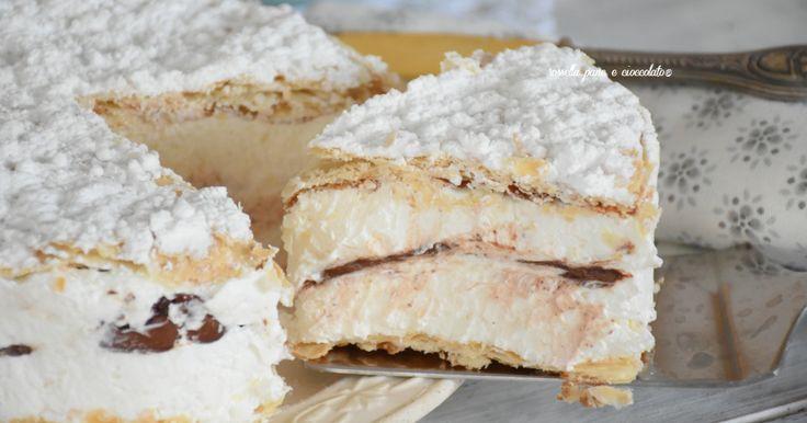 Torta Deliziosa alla pasta sfoglia e  nutella