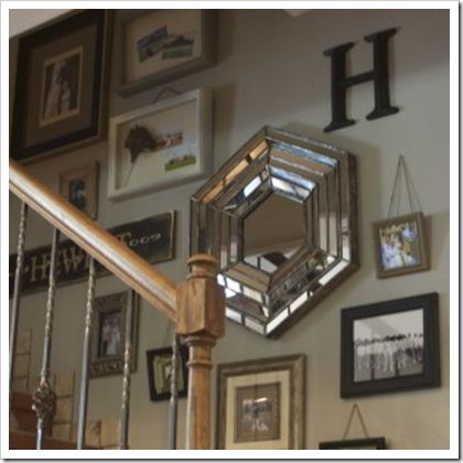 Stairway Wall Decorating Ideas 23 best gallery staircase inspiration images on pinterest | stairs