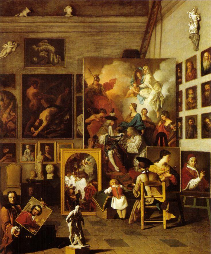 Pierre Subleyras, The artist studio