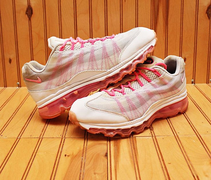 98e7cab6eb 2012 Nike Air Max 95 DYN Size 7 - White Polarized Pink Grey - 553554 161 |  Clothing, Shoes & Accessories, Women's Shoes, Athletic | eBay! | Nike Shoes.