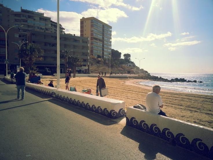 Un día de Febrero en nuestra playa!