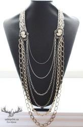 Colliers Les grandes dames (bijou #63) 32$ Shop online : www.sabbychic.ca