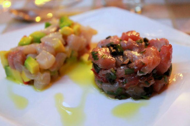 Chef Home Made: Cena a casa di amici... Tartare di pesce spada e avocado con pepe rosa e lime