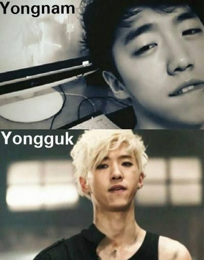 The Bang Twins. B.A.P's Yongguk and underground artist ...