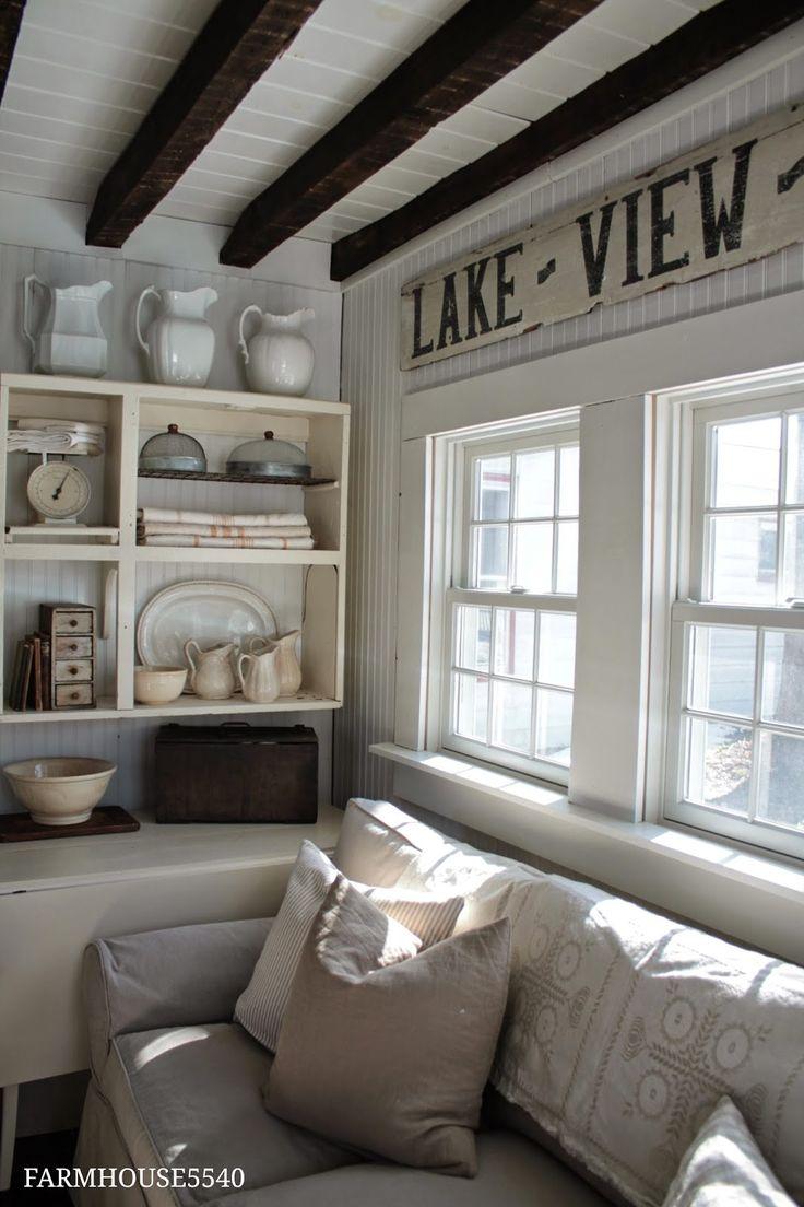 Bauernhaus design weißen bauernhaus vintage bauernhaus landhaus stil bauernhaus wohnzimmer für zu hause farmhouse decor family room homekeeping