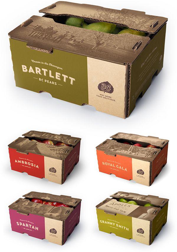 BC Tree Fruit Packaging & ReBrand on Behance