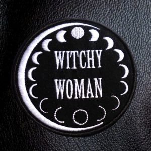 witchy woman patch