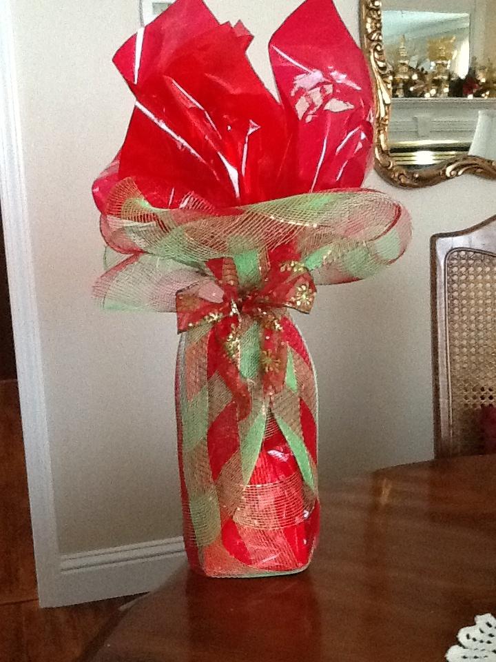 Christmas Cellophane Wrap