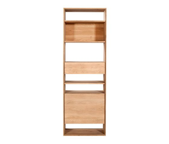 Oak Nordic bookcase by Ethnicraft | Architonic