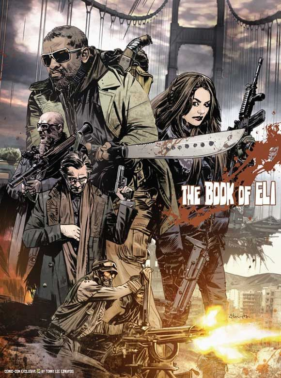 """CAST: Mila Kunis, Denzel Washington, Gary Oldman, Malcolm McDowell; DIRECTED BY: Albert Hughes; PRODUCER: Broderick Johnson, Andrew A. Kosove; Features: - 11"""" x 17"""" - Packaged with care - ships in stu"""